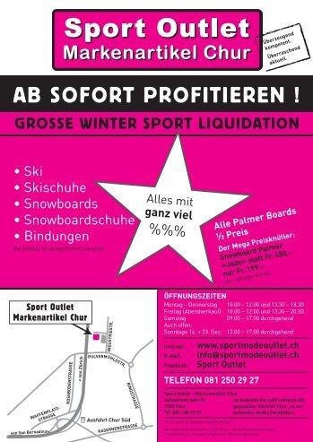 Flyer Chur - Sport Outlet