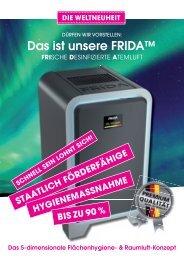 Infobroschüre FRIDA / Zeh