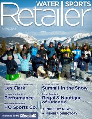 12 - Water Sports Retailer digital magazine – Published by WSIA.net