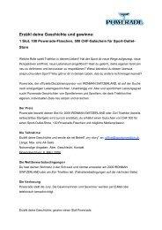 Erzähl deine Geschichte und gewinne: - Ironman Switzerland