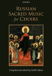 Russian Sacred Music for Choirs
