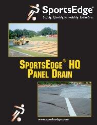 SportsEdge® HQ Panel Drain Illustrations