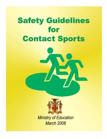 Safety Guidelines for Contact Sports Manual.pdf - Ministry of Education