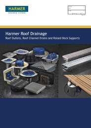 Harmer Roof Outlets Technical Brochure - Alumasc Roofing Systems