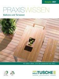 Praxiswissen Balkone und Terrassen 2021