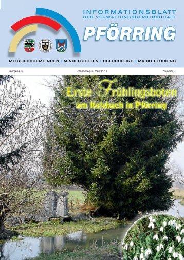 Informationsblatt-2011-03 - Markt Pförring