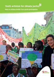 Youth activism for climate justice