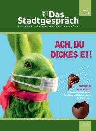 Das Stadtgespräch Ausgabe April 2021 auf Mein Rheda-Wiedenbrück