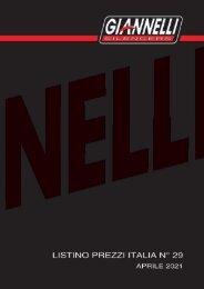 Giannelli - Listino Italia N° 29 - Aprile 2021