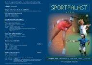 T E N N I S - Sportpalast Singen