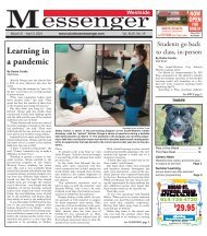 Westside Messenger - March 21st, 2021