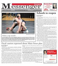 Groveport Messenger - March 21st, 2021