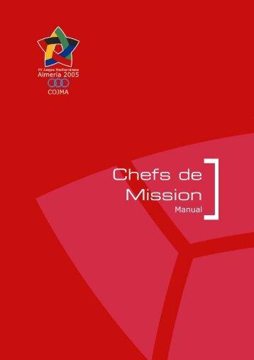 Chefs de Mission - centro de exposicion y documentación de los ...