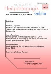 (Radikaler) Konstruktivismus und Sonderpädagogik - d-nb ...