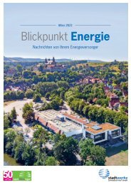 Blickpunkt Energie Ausgabe 01/2021