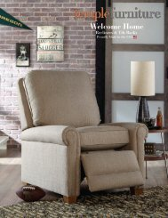 Temple Furniture Recliners + Tilt Backs