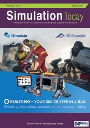 Simulation Today - Spring 2021