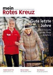 Mein Rotes Kreuz 01/2021: Ausgabe Niederösterreich