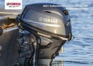 2021 Außenbordmotoren 25 - 2.5 HP  & Elektromotoren