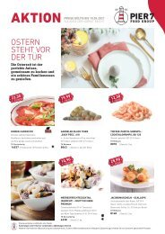 Pier7 Lagerverkauf Osternangebot