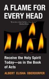 A FLAME FOR EVERY HEAD - ALBERT ELISHA OBERDORFER - SAMPLE