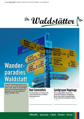 Wander- paradies Waldstatt - Gemeinde Waldstatt