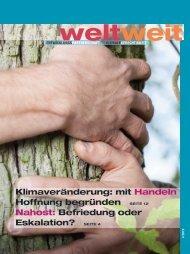 WeltWeit - Zeitschrift für Entwicklungszusammenarbeit und globale Gerechtigkeit