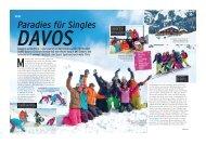 Paradies für Singles DAVOS - Frosch Sportreisen