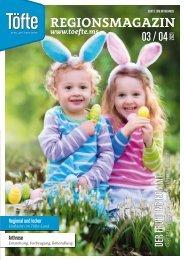 Töfte Regionsmagazin 03/2021 - Der Frühling kommt!