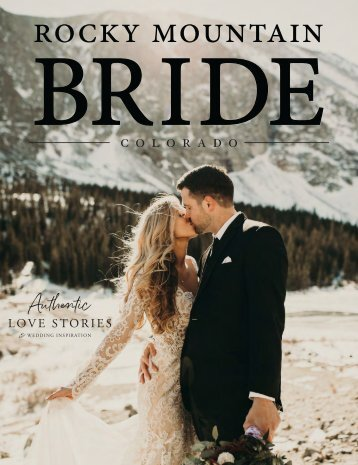 Rocky Mountain - Wedding Inspiration