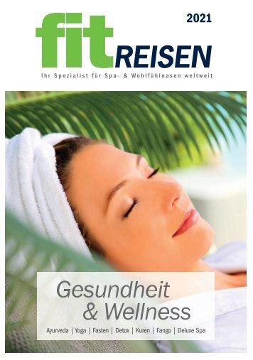 Fit Reisen Katalog - Gesundheit & Wellness 2021