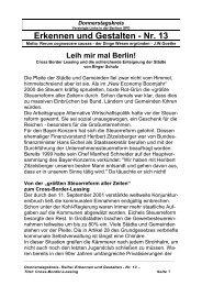 Birger Scholz - Cross Boarder Leasing - Attac Berlin