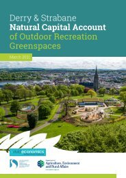 Derry & Strabane: Natural Capital Report of Outdoor Recreation Spaces 2021