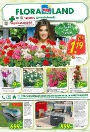 Floraland + Ihr bbk hagebaumarkt | KW 13