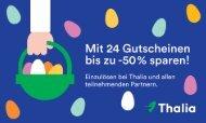 Thalia Frühjahrs-Gutscheinheft