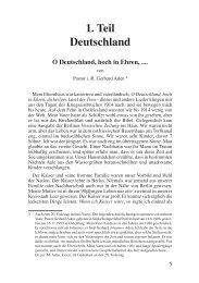 1. Teil Deutschland - Deutschland Journal