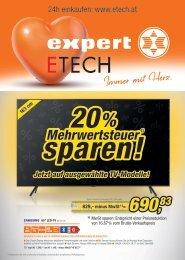 Flugblatt ETECH - Expert April 2021