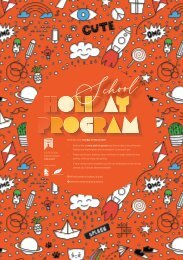 School Holiday Program Autumn 2021