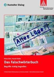 Alles Lüge - Das Falschwörterbuch - IG Metall Reutlingen-Tübingen