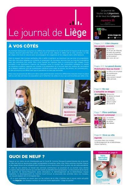 Votre Journal de Liège du mois d'avril 2021