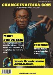 ChangeinAfrica Entertainment Issue 1