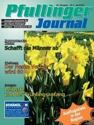 Aufi geht's! - beim Pfullinger Journal