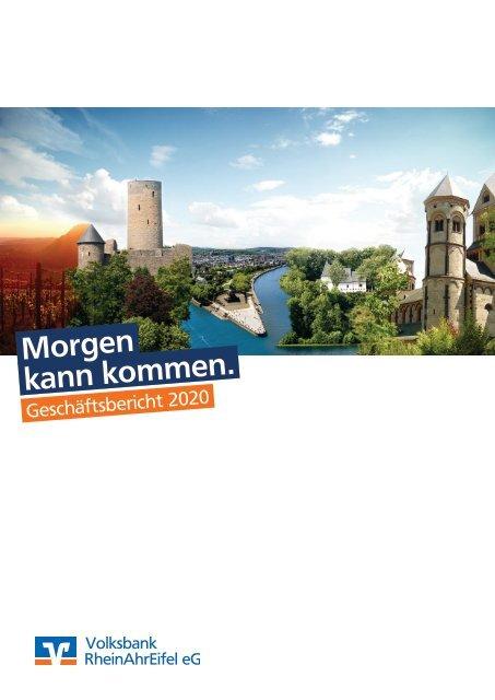 Geschäftsbericht 2020 - Volksbank RheinAhrEifel eG