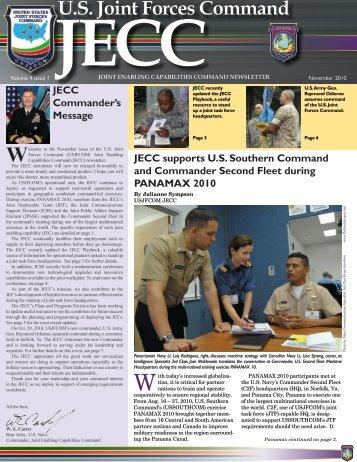 November 2010 Newsletter - United States Transportation ...