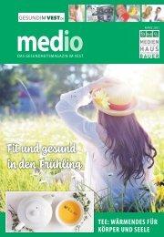 medio - Das Gesundheitsmagazin im Vest