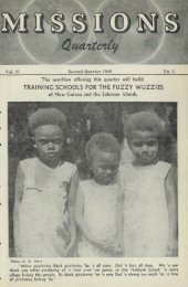 TRAINING SCHOOLS FOR THE FUZZY WUZZIES of New Guinea ...