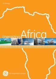 GE Energy, Energizing Africa / PDF 1560kb