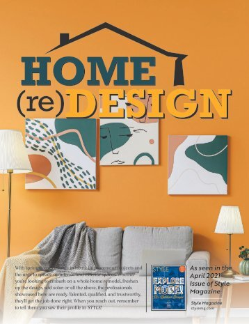 Home ReDesign Stand Alone - April 2021