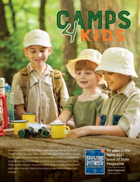 Camps 4 Kids Stand Alone - April 2021