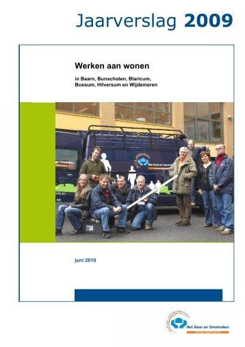 Werken aan wonen - Stichting Woningcorporaties Het Gooi en ...